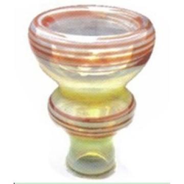 Mão feita colorida Hookah grande cabeça cerâmica Shisha Bowl