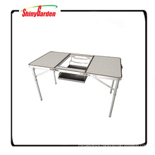 Portable Folding Table for Camping Barbecue