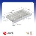 transparent fiberglass molded grating walkway