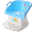 Baby Potty Chair Toilet Seat Dengan sandaran tangan