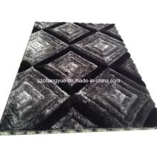 Tapis Shaggy modernes en polyester de haute qualité