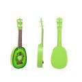 crianças instrumentos musicais guitarra de frutas de madeira