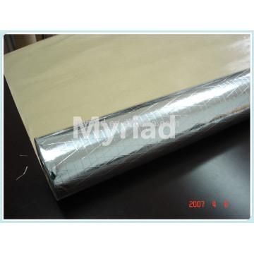 Aluminum foil laminated with Kraft