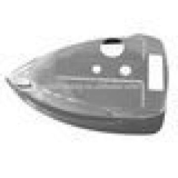 steel chrome plating steam iron shell flange for steam iron, custom design