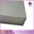 Bookshape Light Grey Printed Gift Paper Box