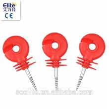 Isolateur de clôture électrique pour l'agriculture électrique clôture / isolateurs de poteau / isolant économique