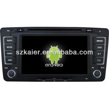 Android System car dvd player for VW Skoda Octavia with GPS,Bluetooth,3G,ipod,Games,Dual Zone,Steering Wheel Control