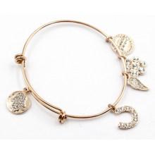 Bracelet de mode avec des charmes personnalisés