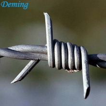 Pvc bersalut Hot Dipped Galvanized Barbed Wire