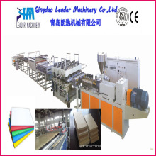 WPC Foam Sheet Production Line, WPC Foam Sheet Production Machine