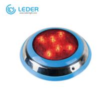 LEDER Aquarium used IP68 9W LED Underwater Light