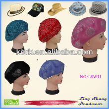2015Promotional fancy New Design Custom hat cap And Hats Wool Caps And Hats,LSW11