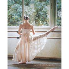 Масляная живопись Asia Art на холсте <Ballet exercise>