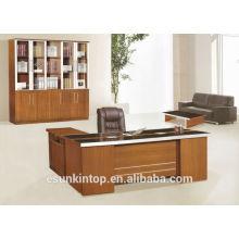 Mobilier de bureau bureau bureau mobilier de luxe en mélamine pour