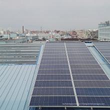 Montage économique de toit de panneau solaire en aluminium de prix de toit économique