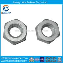 Stock Made in china Estoque DIN934 2H 4,8 8,8 Grau Porca hexagonal