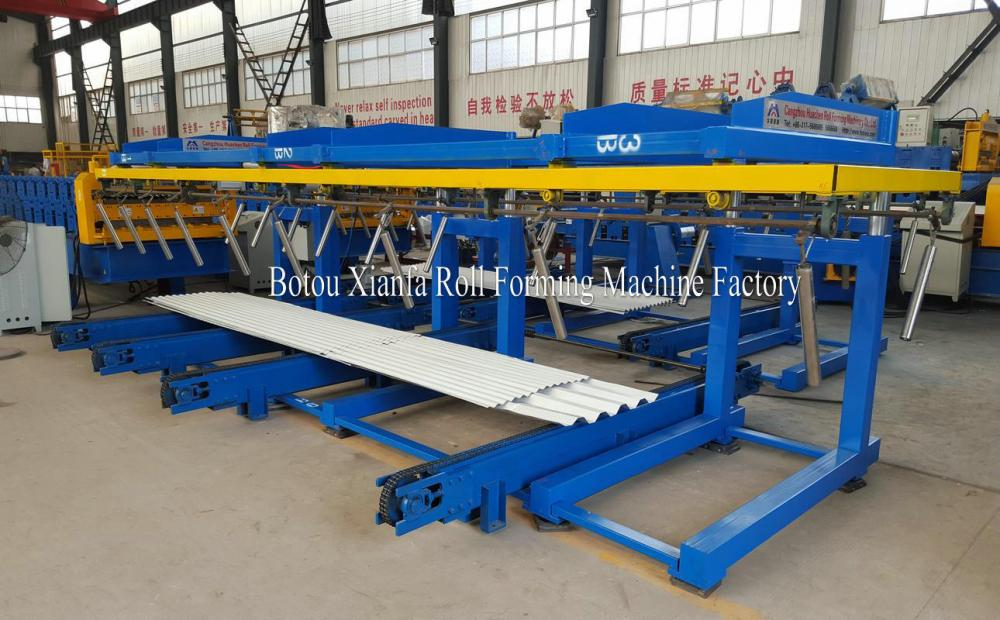 CNC Standard XF6M Colour Steel Tile Auto Stacker