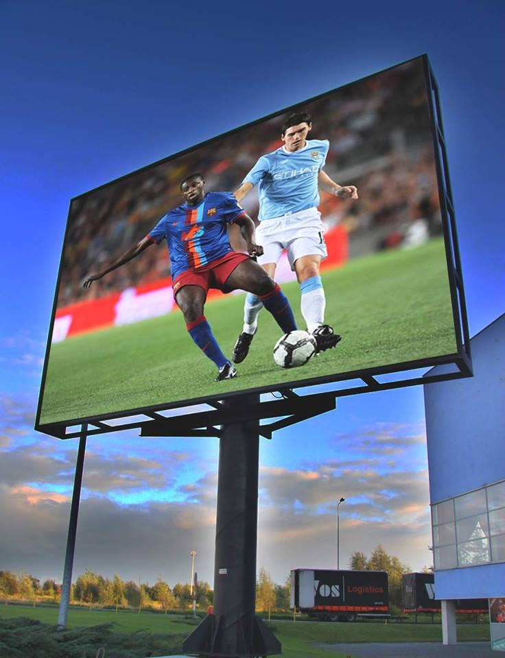 P10 Outdoor Digital Advertising LED Display