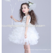 Baby girl wedding dress new design ball gown performance 3 year old girl dress