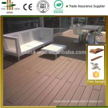 risssicher outdoor Koextrusion Wpc Terrassendielen/WPC DECK