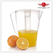 Plastic Juice Pitcher with Ice Tube (LFR4373)