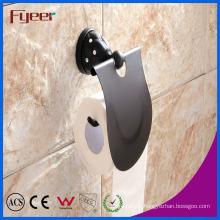 Fyeer Black Series Bathroom Brass Toilet Paper Roll Holder