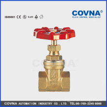 Brass stem 6inch gate valve