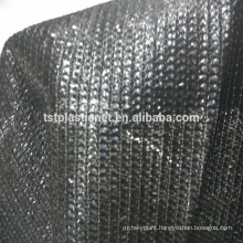 100% HDPE aluminum eyelet reinforced edges agro/greenhouse sun shade net