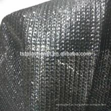 100% de ilhós de alumínio HDPE reforçado bordas agro / estufa sombra do sol net