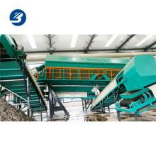 Trieur de déchets municipaux tri des déchets avec le meilleur convoyeur de tri de qualité