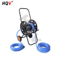 A18 Heavy Duty Steel Garden Water Hose Reel Cart with Wheels