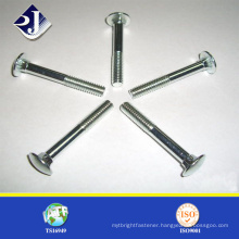 M4 Carriage Bolt, Round Head Square Neck Carriage Bolt with Nuts in Good Payment