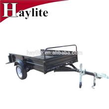 Cheap powder coated 8'x5' farm trailer flat trailer