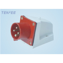 32a/16a 3P+E Wall Mounted Plug IP44