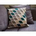 Patchwork, Fleece, Velvet Cushion