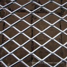 Folha de metal expandida tipo buraco de diamante