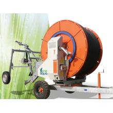 sprinkler agrícola Sistema de irrigação com carretel de mangueira 65-250