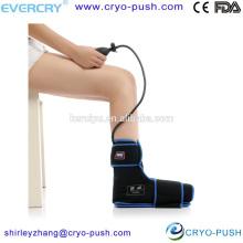 sistema de terapia de dolor para el tobillo y compresión en frío