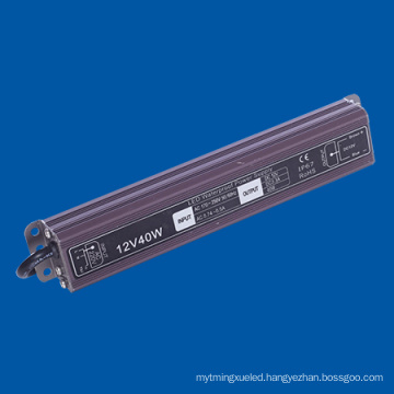 IP67 Waterproof LED Driver 40W DC12V for LED Lamp