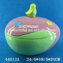 Handmalerei Ostern Keramik Speicherglas