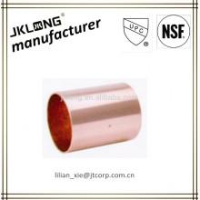 Acoplamento de conexão de alimentação de extremidade acoplamento de montagem de cobre de ondulação C x C
