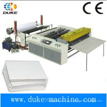 2015 Novo completo automático um reel alimentação A4 A3 máquina de corte de papel (DKHHJX-1100/1300)