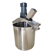 All kinds of sauces non paste pot cooking mixer oil frying machine dipping mixing equipment