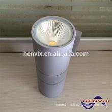20W cinza luz de parede ao ar livre, IP65 parede de luz para cima para baixo