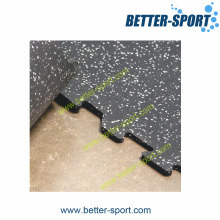 Rubber Gym Mat, Interlocking Rubber Tile, Rubber Tile