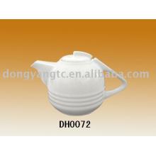 Pote de café de cerâmica, bule de chá com filtro, bule de chá de porcelana, bule de chá de vidro colorido