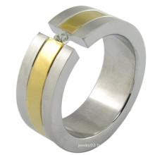 Bague en or personnalisée et personnalisée avec un design de qualité