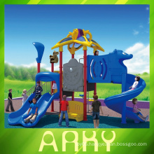 Hot sale rubberized playground equipment for children