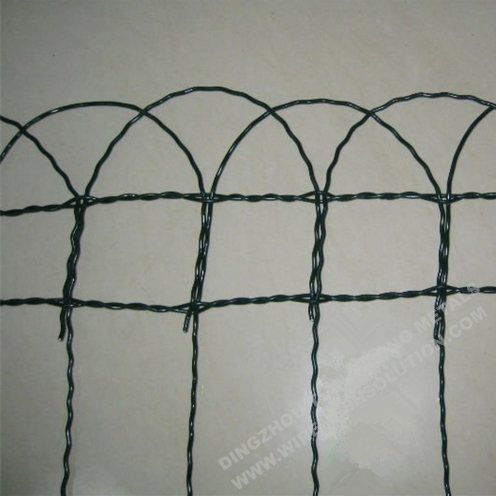 2.0/3.0mm Arch Top Garden Border Fence
