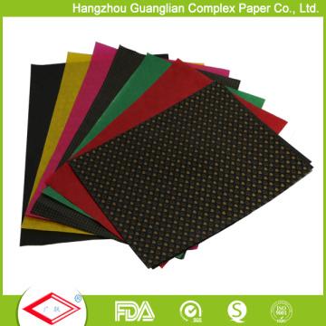 Papel do Cakecup da Não-Vara do papel de Glassine do silicone do produto comestível